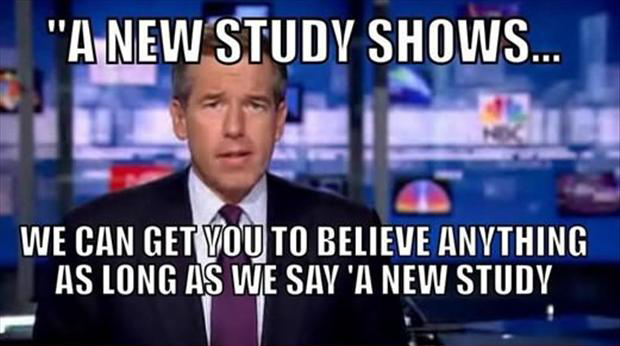 a new study, funny news