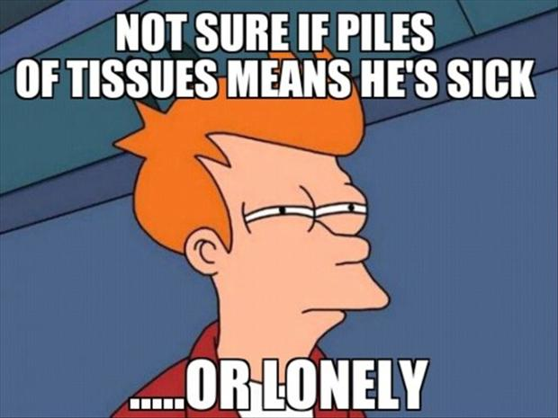 a not sure if meme, forever alone