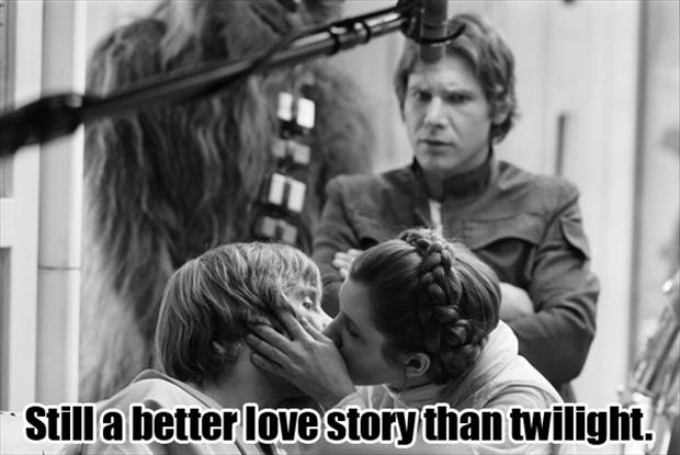a star wars, still a better love story than twilight