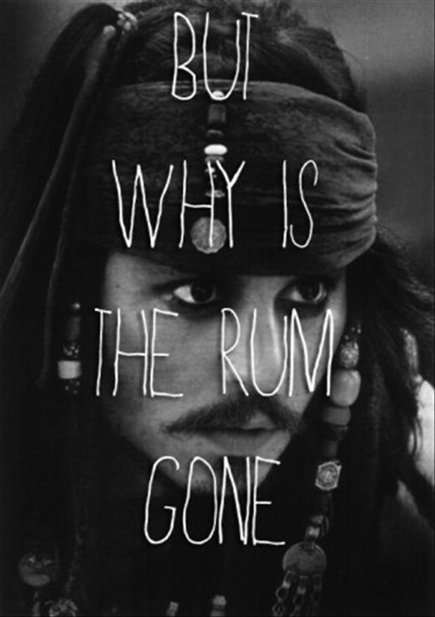 a why is the rum gone