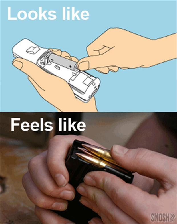 adding batteries, what it looks like, what it feels like