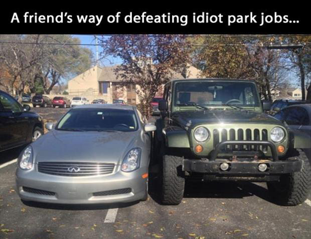 bad parking jobs, funny pictures