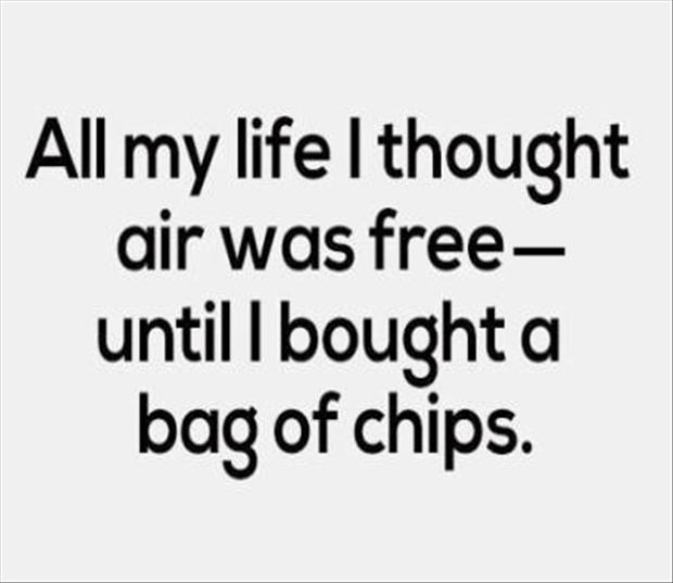 bag of chips, funny