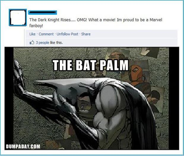 batman facepalm
