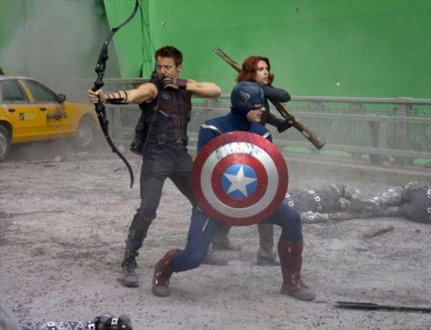 behind the scenes of the avengers movie