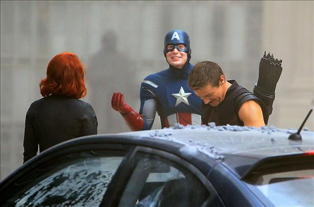 bloopers, the avengers
