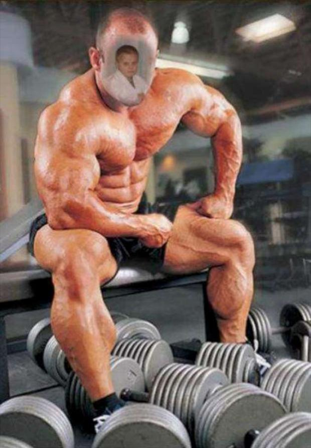 bodybuilder, seems legit