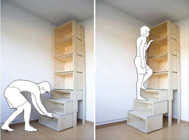 book shelves, smart ideas