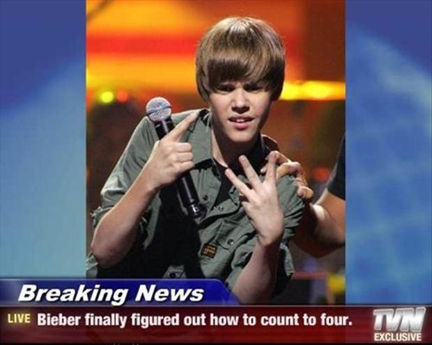 breaking news, justin bieber