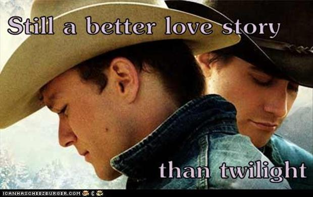 brokeback mountain, a better love story than twilight