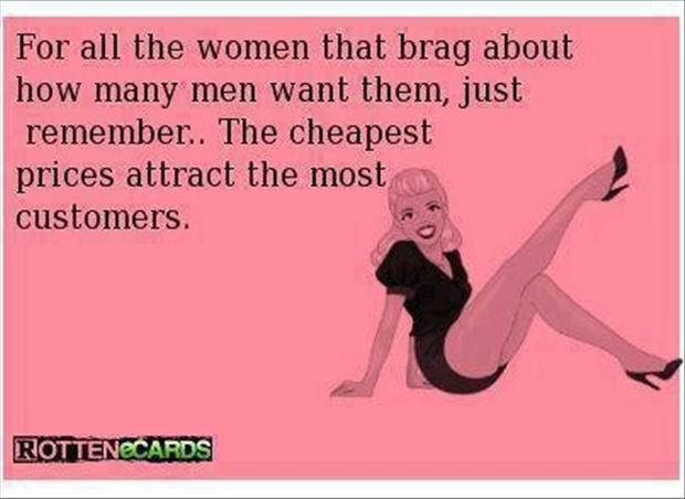 cheap women, funny quotes