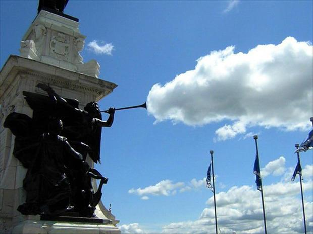 clouds, perfectly timed photos