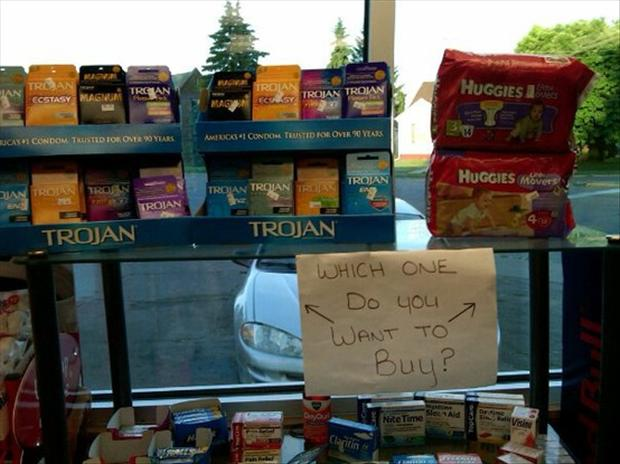 condoms or diapers, funny pictures