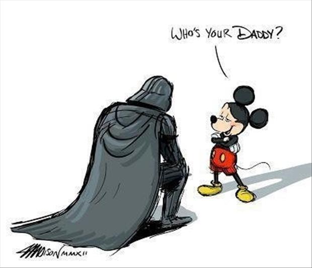 darth vader, whos your daddy