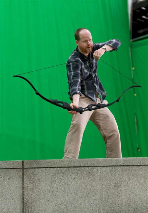 director of the avengers, behind the scenes