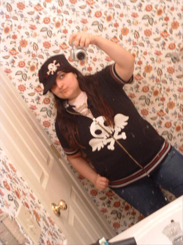 eme kid, bathroom mirror pictures, myspace
