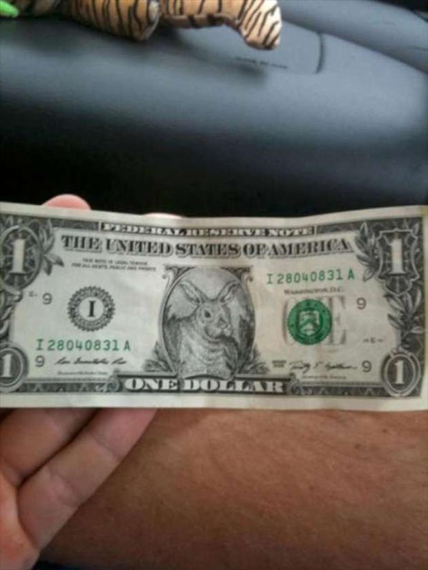 fake money, seems legit
