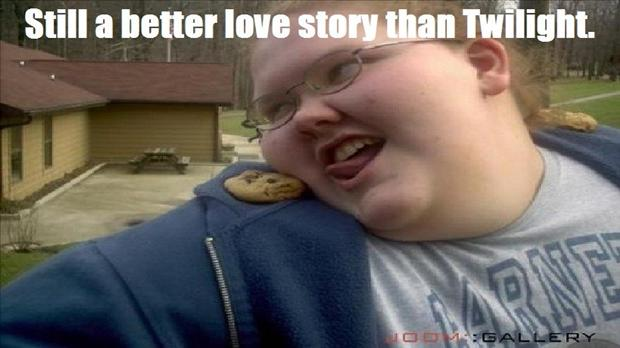 fat girl and cookie, a better love story than twilight