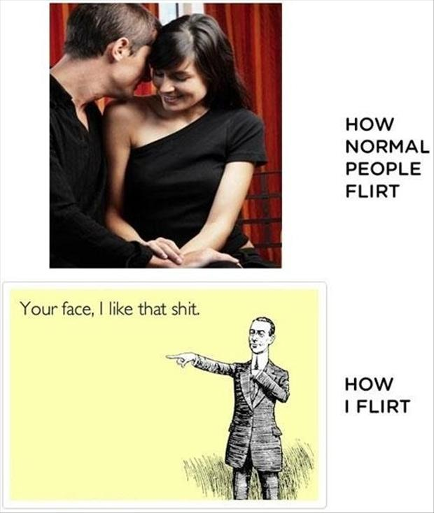 flirting, funny pictures