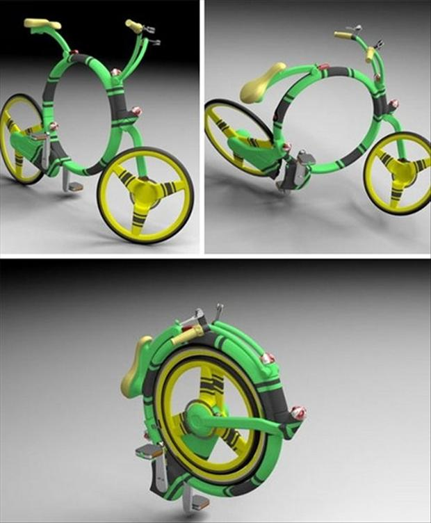 folding bicycle, smart ideas