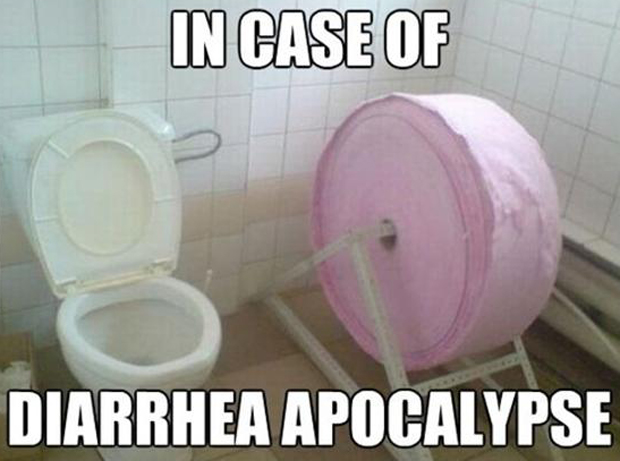 funny apocalypse bathroom pictures