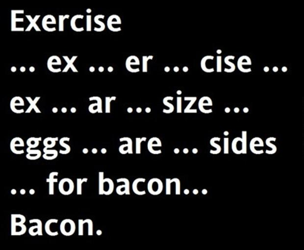 funny bacon and eggs quotes