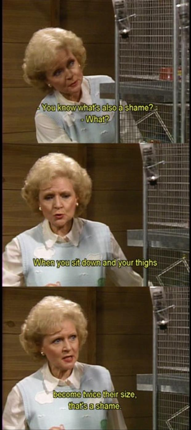 funny betty white quotes