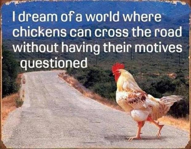 funny chicken crossing the road jokes