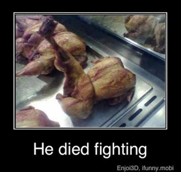 funny chicken, demotivational posters
