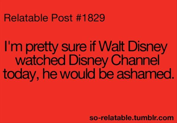funny disney channel quotes