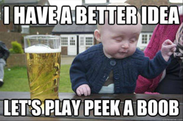 dump a day funny drunk baby 40 pics 25 hilarious baby memes for new moms 620x410