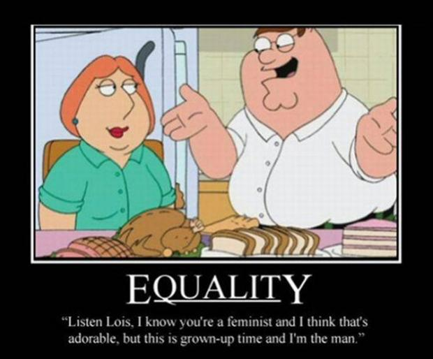funny family guy, man vs woman