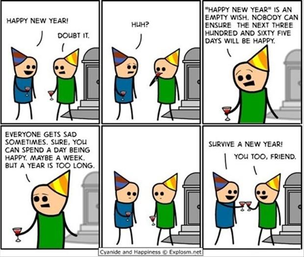 funny happy new year comics - Dump A Day