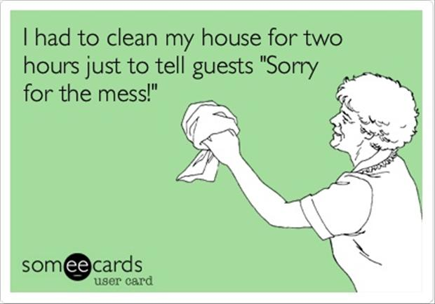 funny house cleaning quotes - Dump A Day