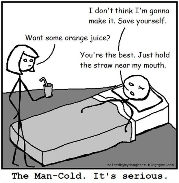 funny man cold