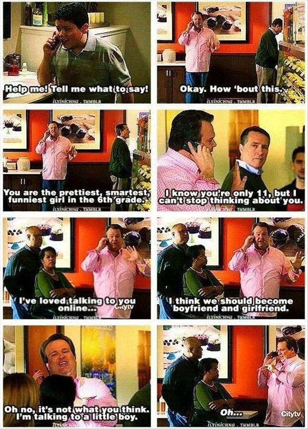 funny modern family