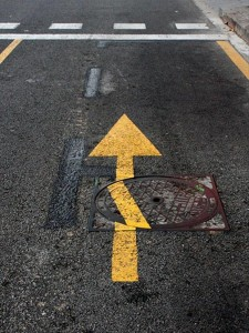 funny ocd pictures, street arrow