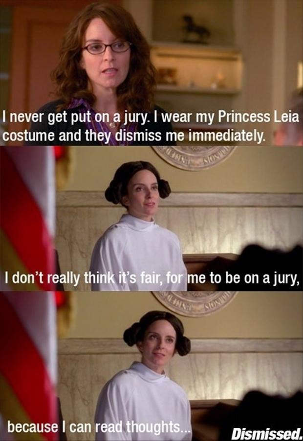funny princess leia