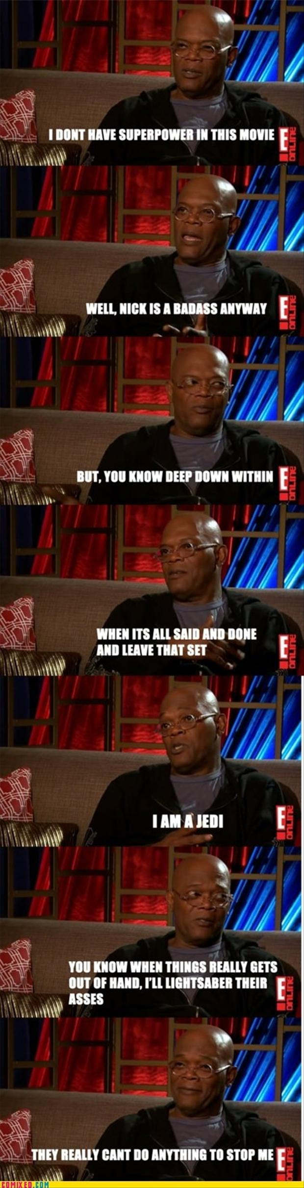 Samuel L. Jackson Funny Quotes