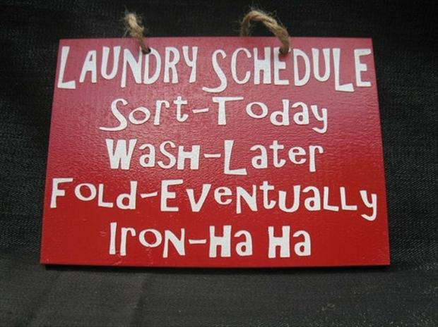 funny signs, laundry signs