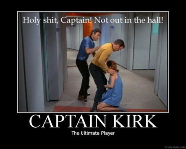 funny star trek, demotivational posters