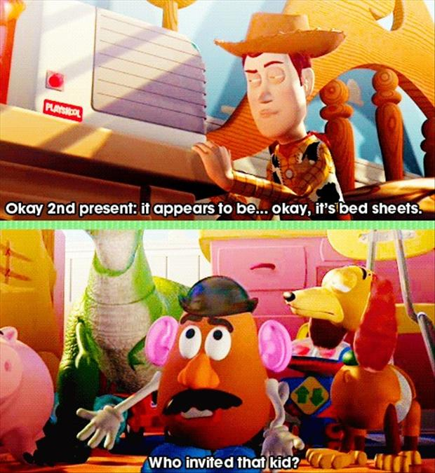 funny toy story