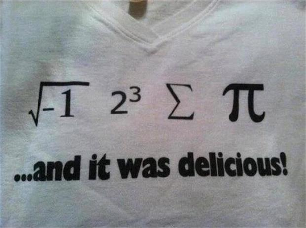 funny tshirts, i ate some pie, math problems