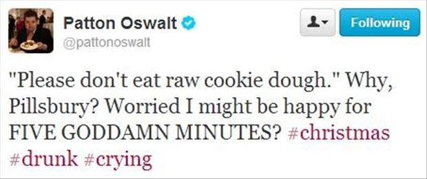 funny twitter quotes, do not eat cookie dough