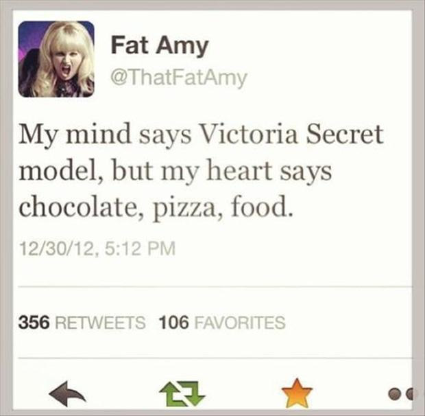 funny twitter quotes, fat amy