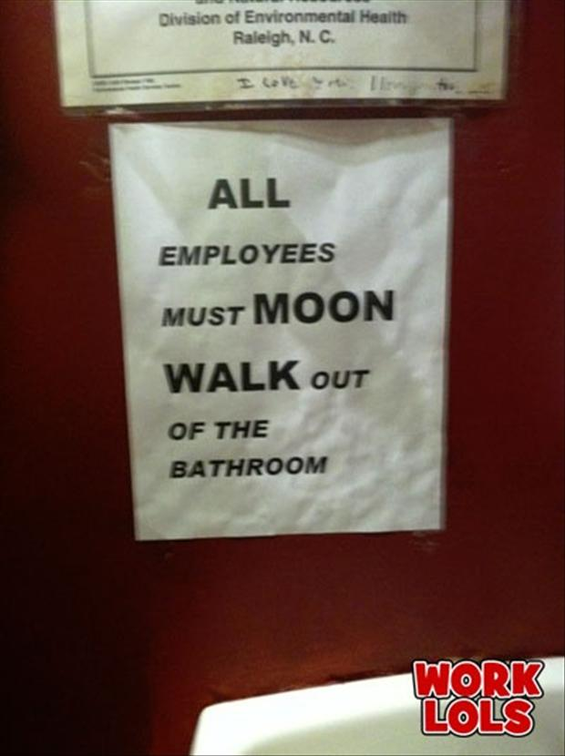funny work signs, employees