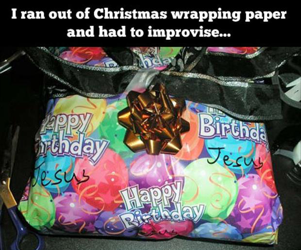 funny wrapping paper,