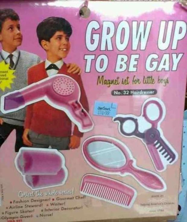 grow up to be gay, seems legit