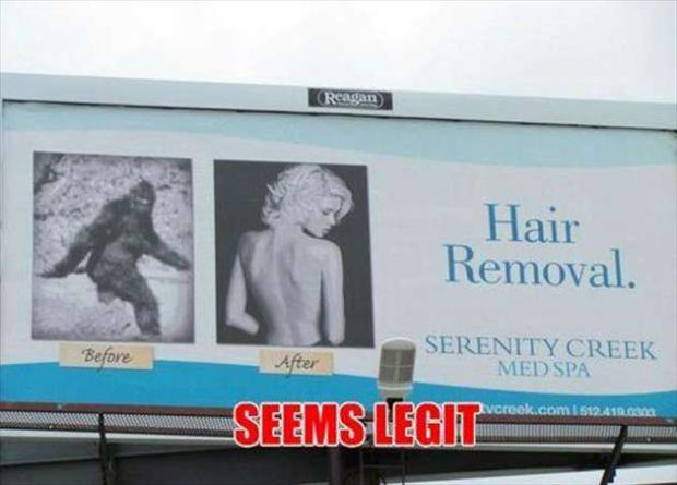 hair removal, seems legit
