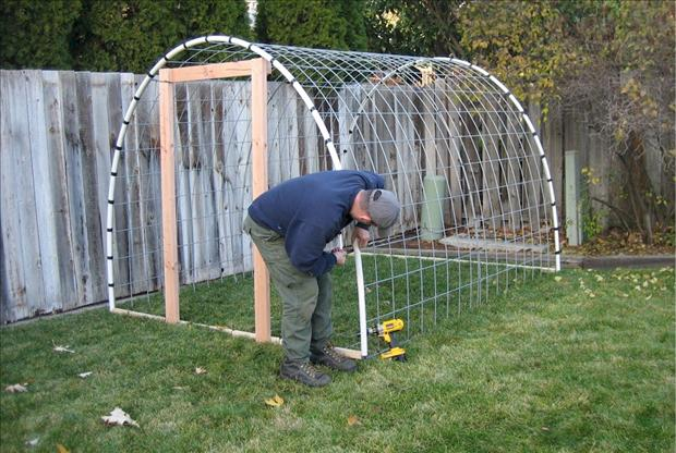How To Build A Greenhouse 5 Dump A Day